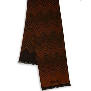 Missoni Zigzag Wool Scarf